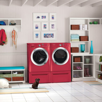 Red Laundry Room Appliances in Waukesha, WI